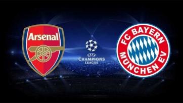 «Арсенал» - «Бавария», прямая онлайн-трансляция. Стартовые составы команд