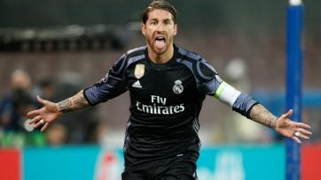 Рамос сравнялся с Роберто Карлосом по голевым показателям за «Реал»