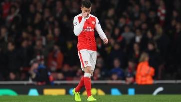 «Арсенал» установил английский антирекорд в плей-офф Лиги чемпионов