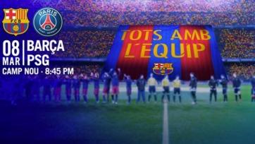 «Барселона» - ПСЖ, прямая онлайн-трансляция. Стартовые составы команд