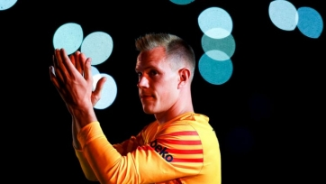 Победный гол «Барселона» забила со штрафного, который заработал голкипер тер Штеген