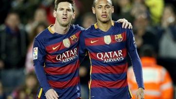 Неймар уверен, что Месси останется в «Барселоне»