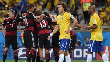 В марте 2018-го года у сборной Бразилии будет шанс отомстить немцам