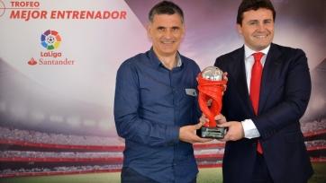 Тренер и нападающий «Эйбара» признаны лучшими по итогам февраля