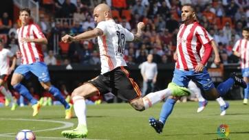 «Валенсия» не смогла одолеть «Спортинг»