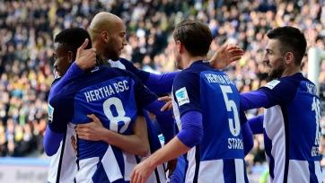Дортмундская «Боруссия» проиграла «Герте» и другие результаты матчей 24-го тура Бундеслиги