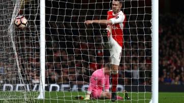 «Арсенал» забил пять мячей «Линкольну»