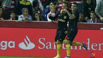 Гол Гризманна за шесть минут до конца игры принёс «Атлетико» победу над «Гранадой»