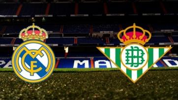 «Реал» – «Бетис», прямая онлайн-трансляция. Стартовые составы команд