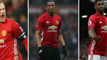 Руни, Марсьяль и Рэшфорд не сыграют против «Челси»