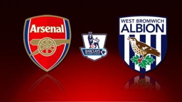 «Вест Бромвич» – «Арсенал», прямая онлайн-трансляция. Стартовые составы команд