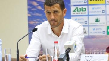 Грасия: «Мы очень слабо провели первый тайм»