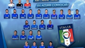 Италия: есть заявка на матчи с албанцами и голландцами