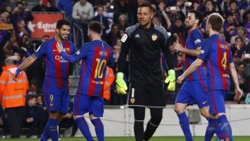 «Барселона» одержала волевую победу над «Валенсией»