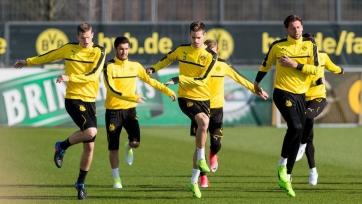 Четыре игрока «Боруссии» Дортмунд вернулись к тренировкам