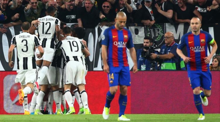 Здоровяк, которого не держат ноги. Как «Ювентус» уничтожил «Барселону»