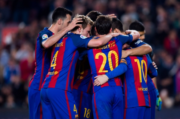 barcelona s football Football updated: apr 01 lionel messi came off the bench to preserve fc barcelona's unbeaten run in la liga with a sensational late equaliser in a thrilling 2-2.