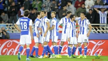 «Реал Сосьедад» уверенно обыграл «Спортинг»