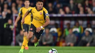 Болельщики «Арсенала» разгневаны игрой Алексиса в матче против «Кристал Пэлас»