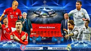 Анонс. «Бавария» – «Реал». Тяжёлый рок в Мюнхене