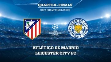 «Атлетико» - «Лестер», прямая онлайн-трансляция. Стартовые составы команд