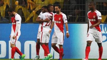 «Монако» на выезде обыграл «Боруссию» Дортмунд