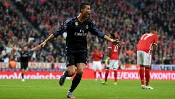 Криштиану Роналду достиг отметки в 100 забитых голов в еврокубках