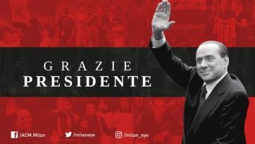 Берлускони: «Спустя тридцать лет я ухожу из «Милана», испытывая грусть и волнение»