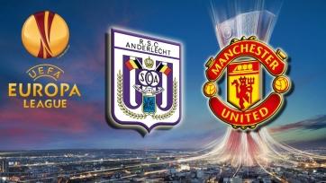 «Андерлехт» - «Манчестер Юнайтед», прямая онлайн-трансляция. Стартовые составы команд