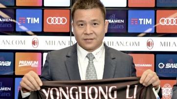 Йонхонг Ли представлен в качестве президента «Милана»