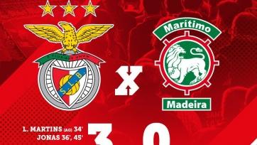 «Спортинг» крупно переиграл «Сетубал», «Бенфика» забила три мяча «Маритиму»
