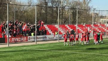 «Молодёжка» «Спартака» переиграла «Зенит»