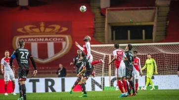 «Монако» с трудом вырвал победу в матче с «Дижоном»