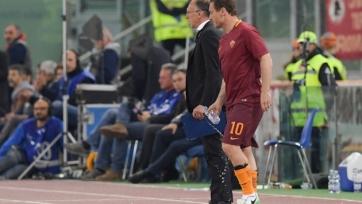 Франческо Тотти вышел на третье место по количеству матчей в Серии А