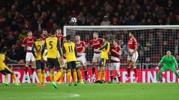 Алексис Санчес забил 3000-й выездной гол «Арсенала» за всю историю выступлений в высшей лиге английского футбола