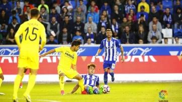 «Алавес» переиграл в домашнем матче «Вильярреал»