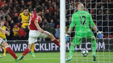 «Арсенал» прервал серию из четырёх выездных поражений кряду, обыграв «Мидлсбро»