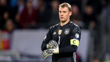 Сборная Германии отправится на Кубок конфедераций без Нойера