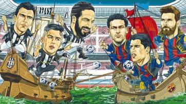 Анонс. «Барселона» - «Ювентус». С верой в новый камбэк
