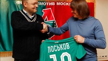43-летний Лоськов точно появится на поле в нынешнем сезоне