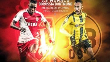 «Монако» - «Боруссия», прямая онлайн-трансляция. Стартовые составы команд