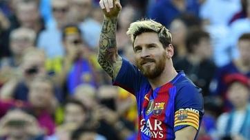 Лео Месси в домашних матчах ЛЧ 2016/2017 совершает результативное действие каждые 36 минут
