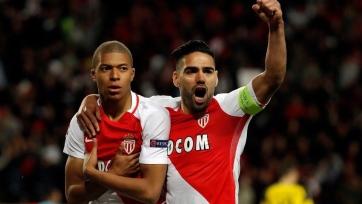 «Монако» расправился с «Боруссией» и вышел в полуфинал Лиги чемпионов