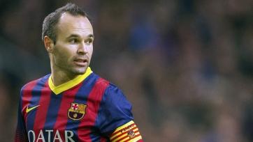 Иньеста задумался о том, стоит ли продлевать контракт с «Барселоной»