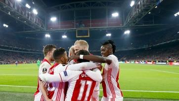 «Аякс» вышел в полуфинал еврокубка впервые за 20 лет