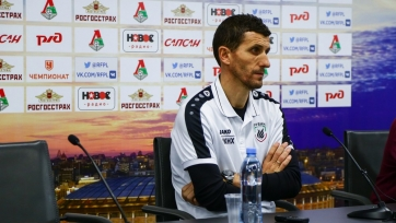 Грасия прокомментировал победу над «Локомотивом»