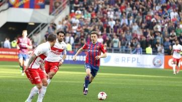 Поражение от «Спартака» стало первым для ЦСКА на «ВЭБ-Арене» в РФПЛ