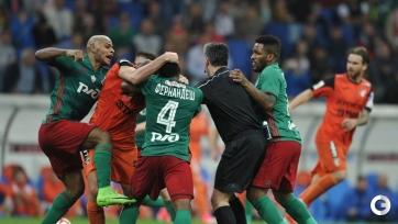 Ари, Манучарян и Фидлер отстранены от шести игр в рамках Кубка России