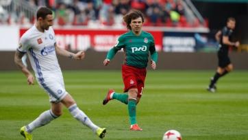 «Локомотив» разгромил «Оренбург» в последнем матче Лоськова