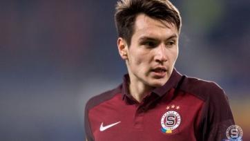 Российский футболист признан игроком сезона в пражской «Спарте»